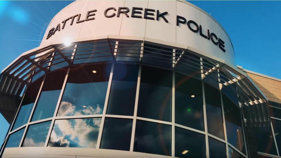 Battle Creek Police Department Films Lip Sync Video in their New Building!