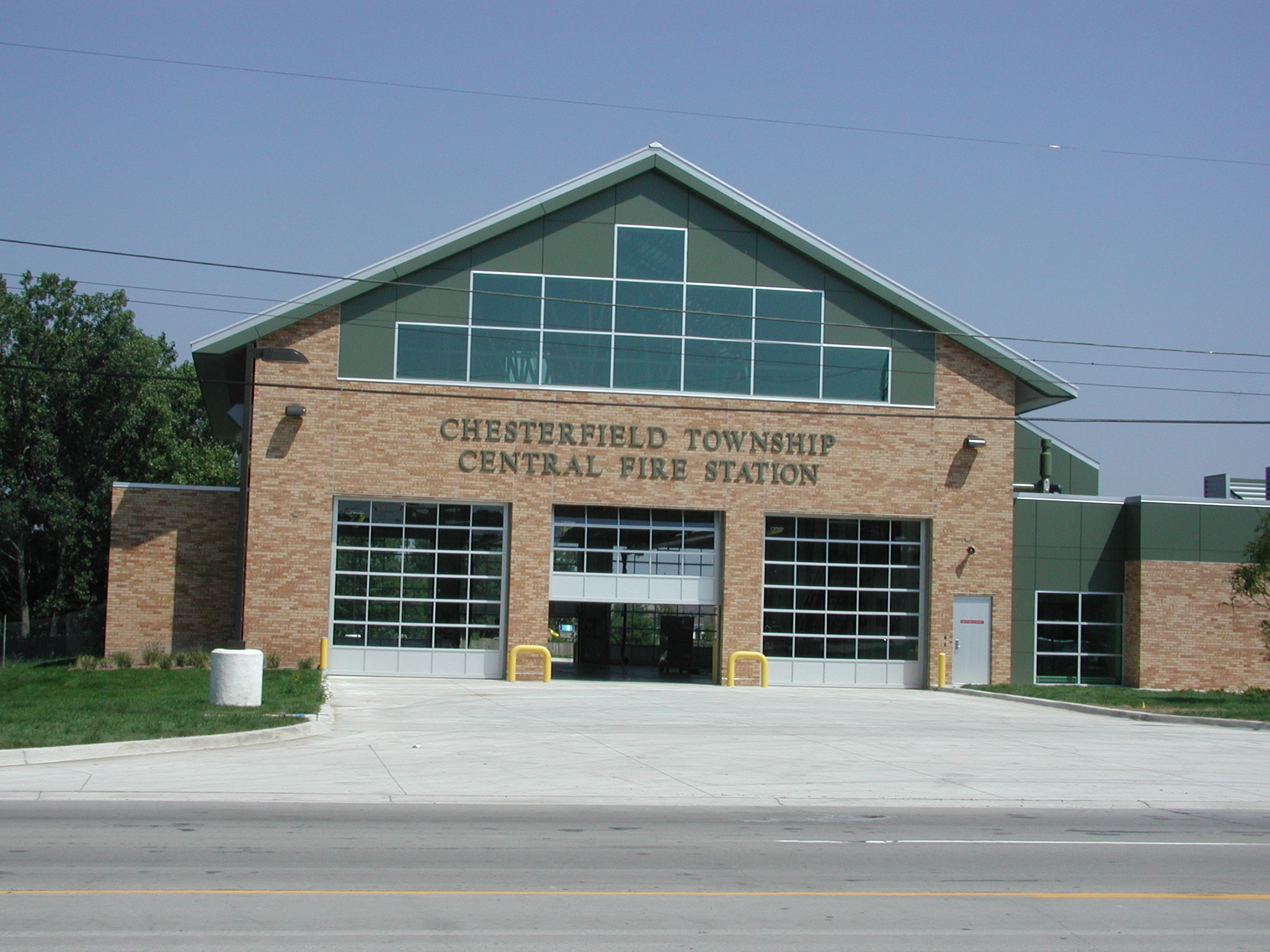Fire Department Headquarters & Central Fire Station, Chesterfield Township, MI