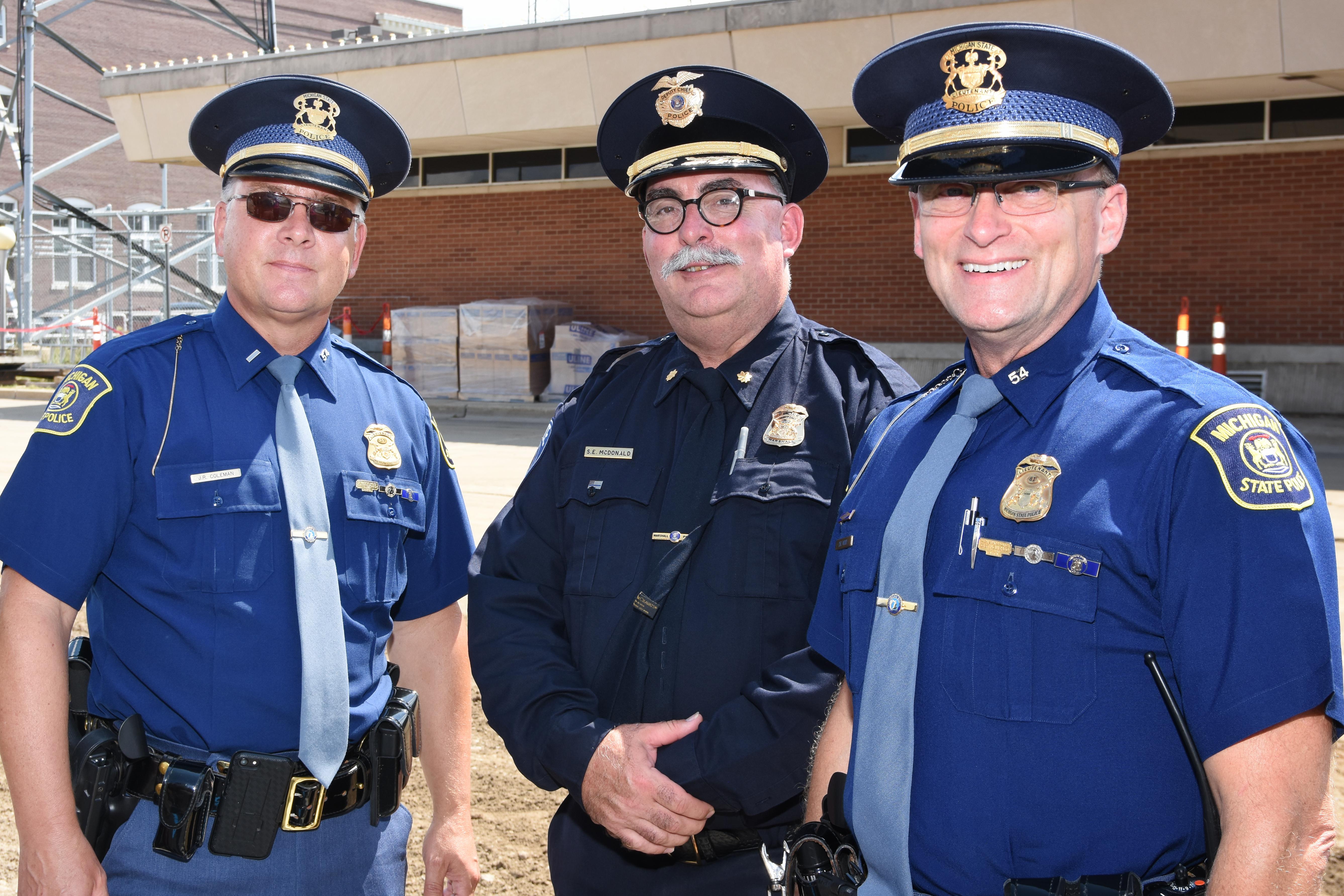 Marshall officers